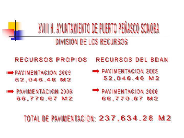 XVIII H. AYUNTAMIENTO DE PUERTO PEÑASCO SONORA