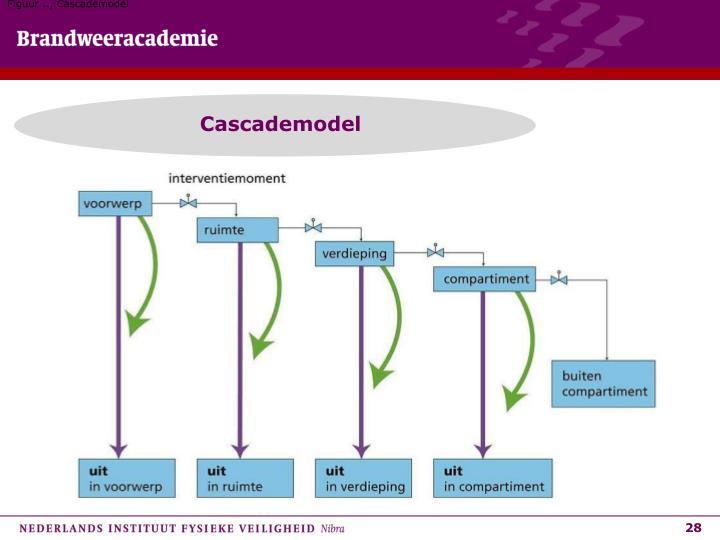 Figuur .., Cascademodel