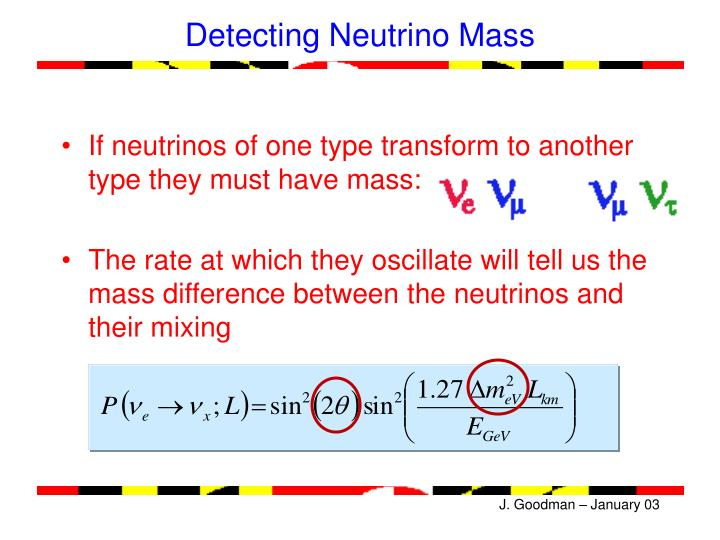Detecting Neutrino Mass