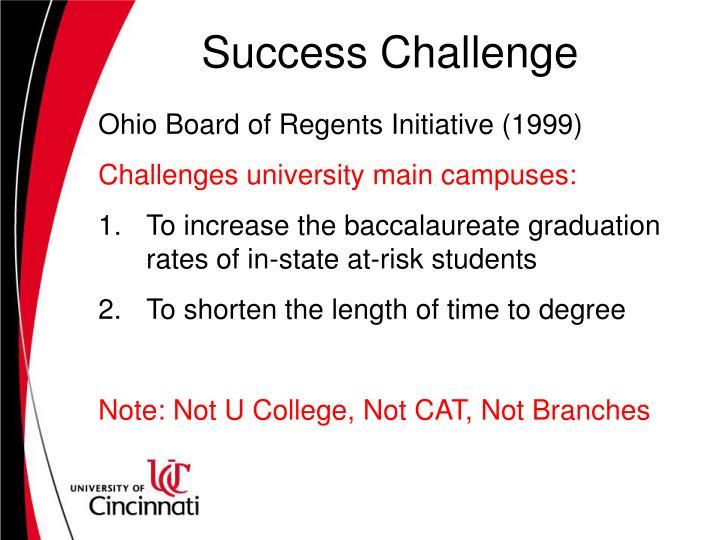 Success Challenge