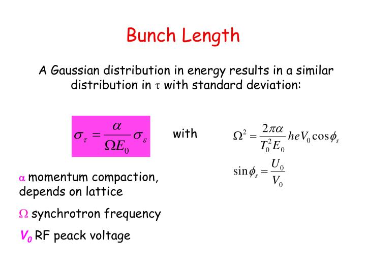 Bunch Length