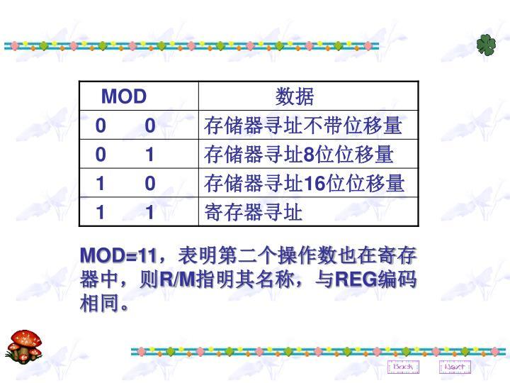 MOD=11