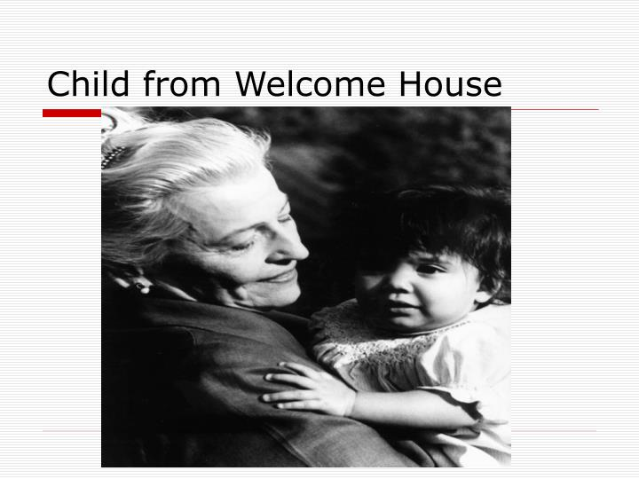 Child from Welcome House