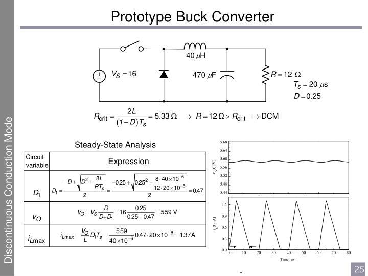 SMPS Basics - The Buck Converter - eCircuit Center
