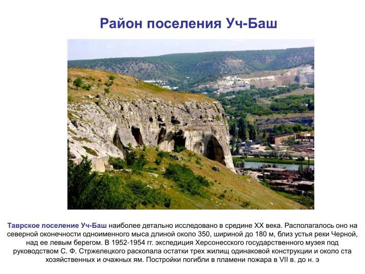 Район поселения Уч-Баш