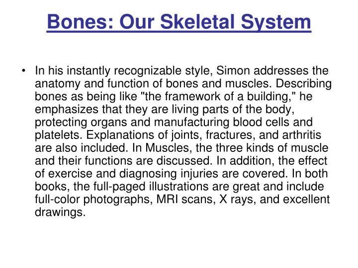 Bones: Our Skeletal System