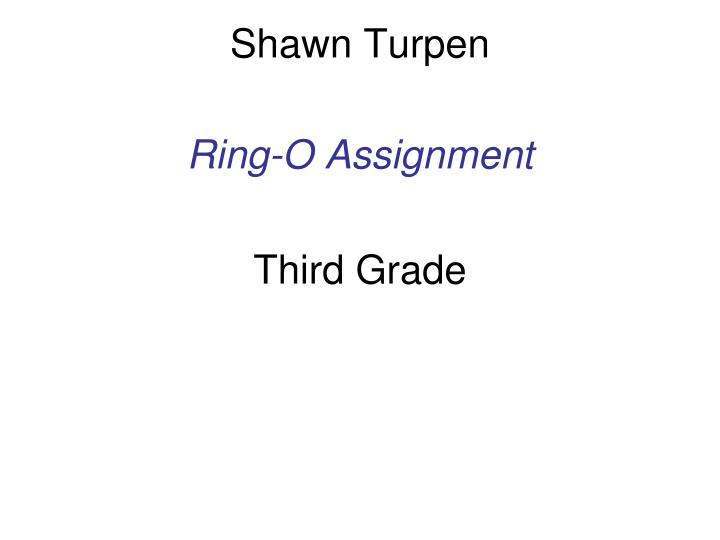 Shawn turpen