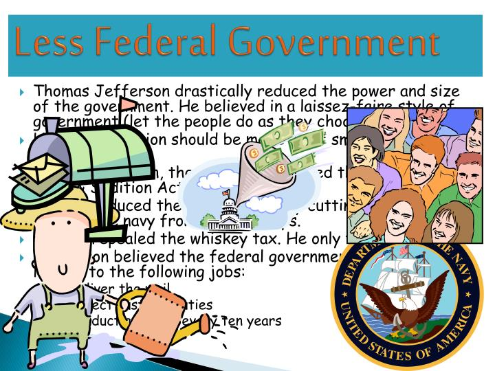 Less Federal Government