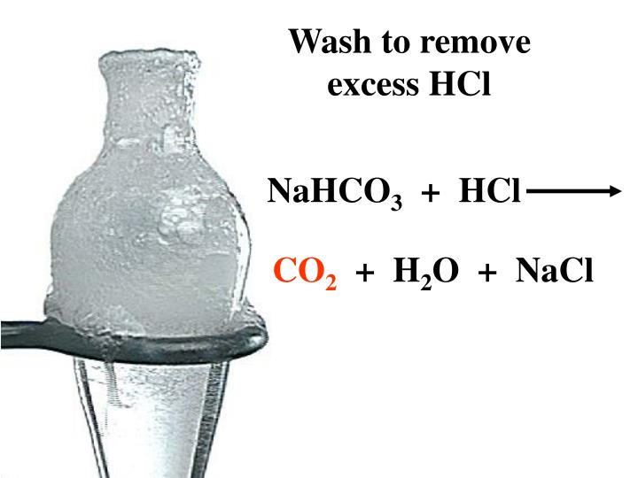 Wash to remove excess HCl