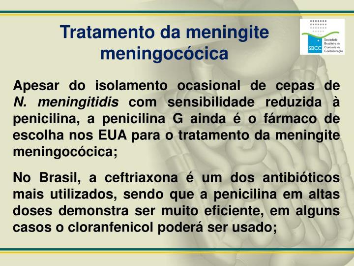 Tratamento da meningite meningocócica