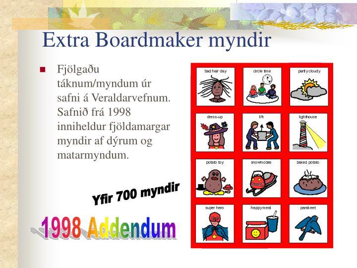 Extra Boardmaker myndir