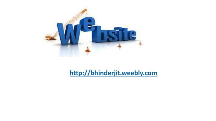 http://bhinderjit.weebly.com