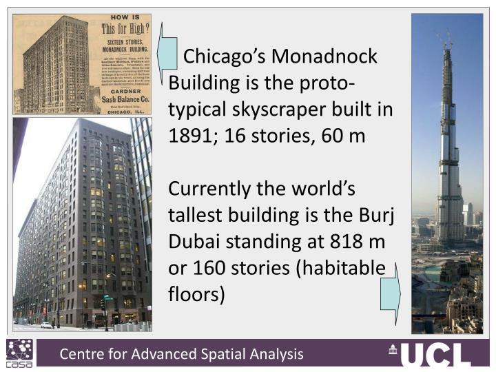 Chicago's Monadnock
