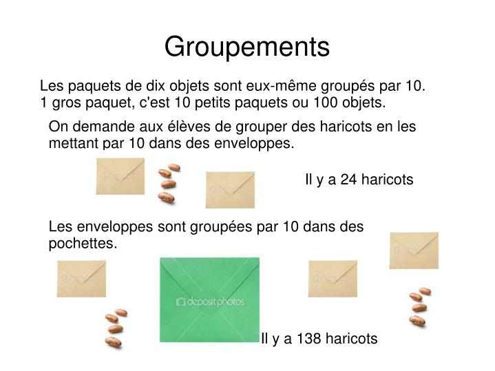 Groupements