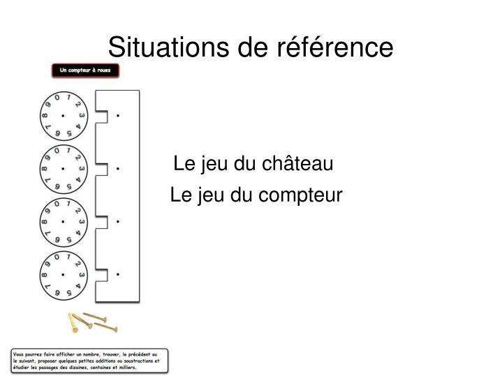 Situations de référence