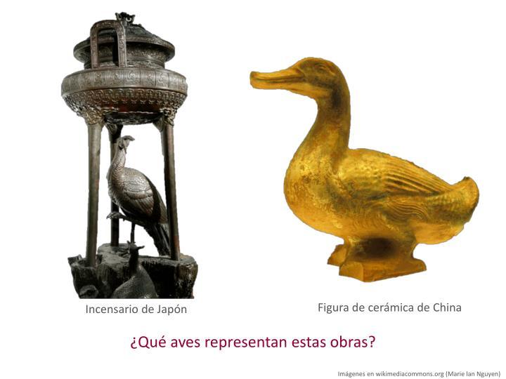 Figura de cerámica de China
