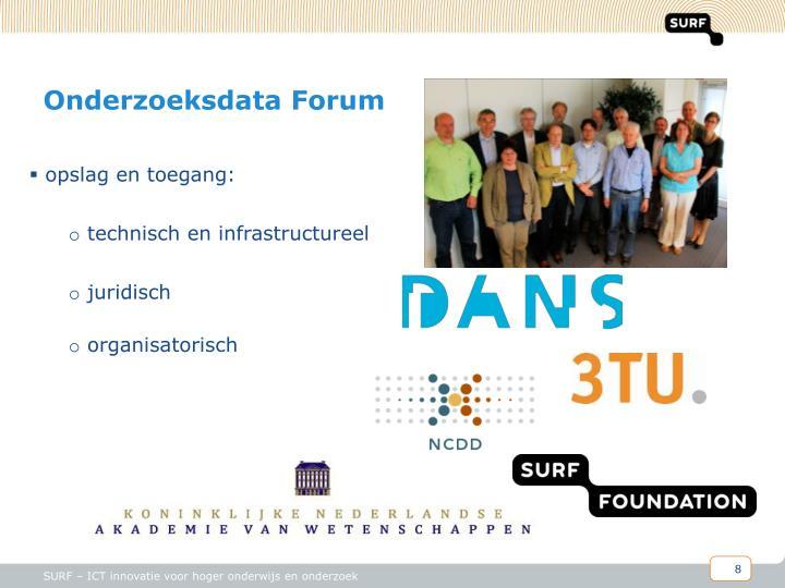 Onderzoeksdata Forum
