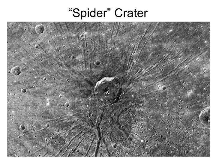 """Spider"" Crater"