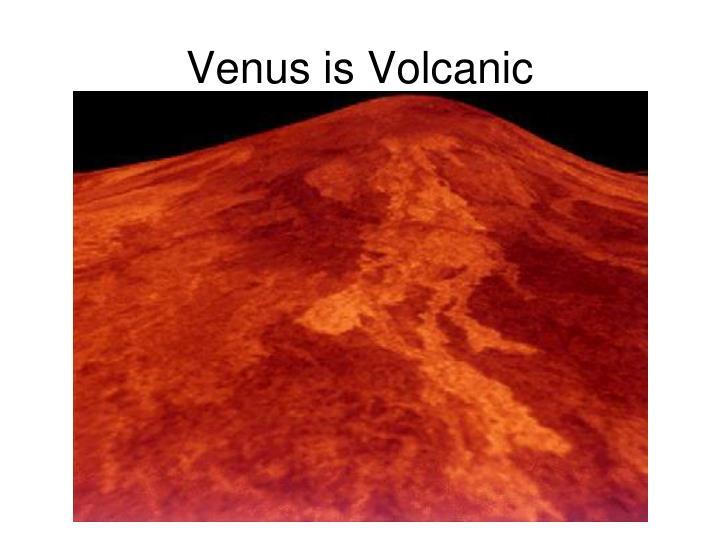 Venus is Volcanic