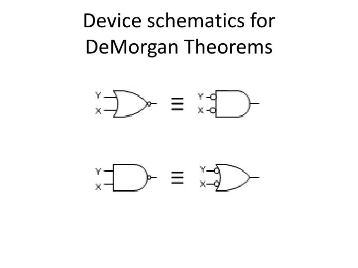 Device schematics for