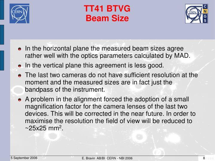 E. Bravin  AB/BI  CERN - NBI 2006