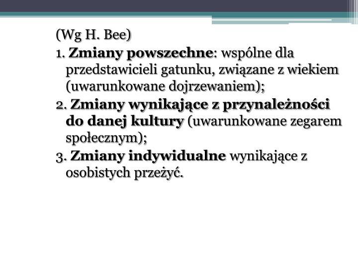 (Wg H. Bee)