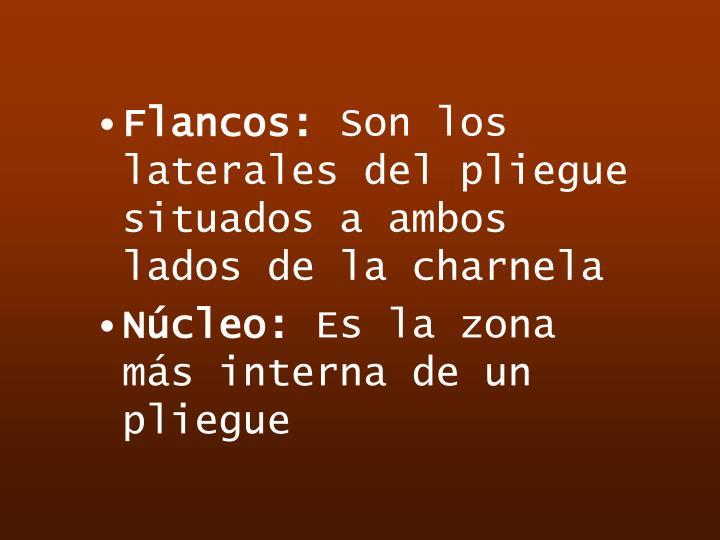 Flancos:
