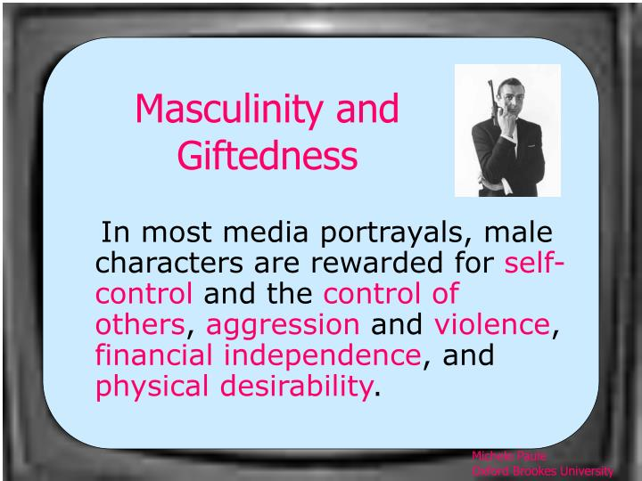 Masculinity and Giftedness