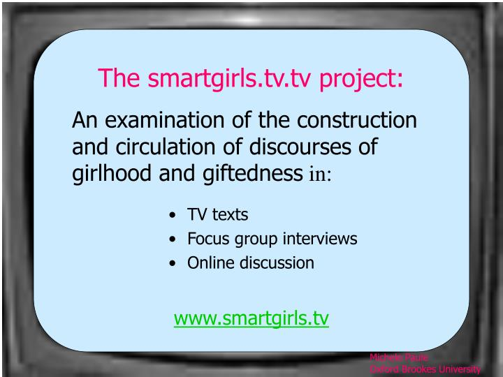 Www smartgirls tv
