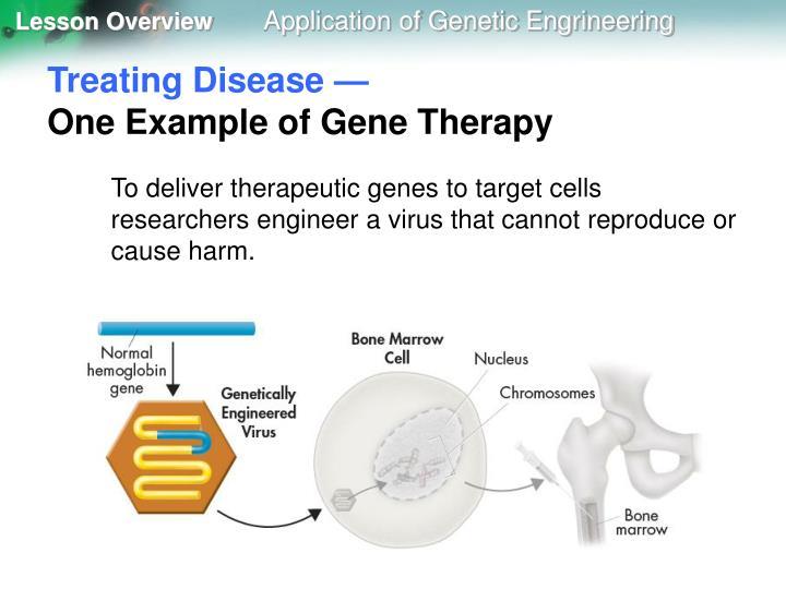 Treating Disease —
