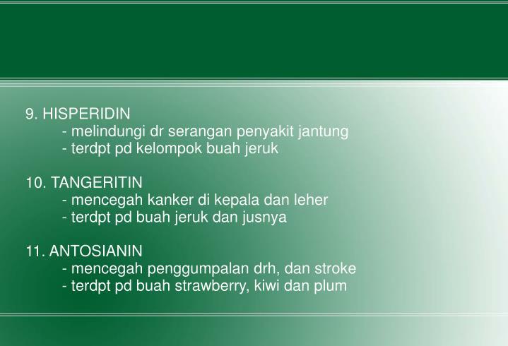 9. HISPERIDIN