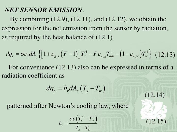 NET SENSOR EMISSION