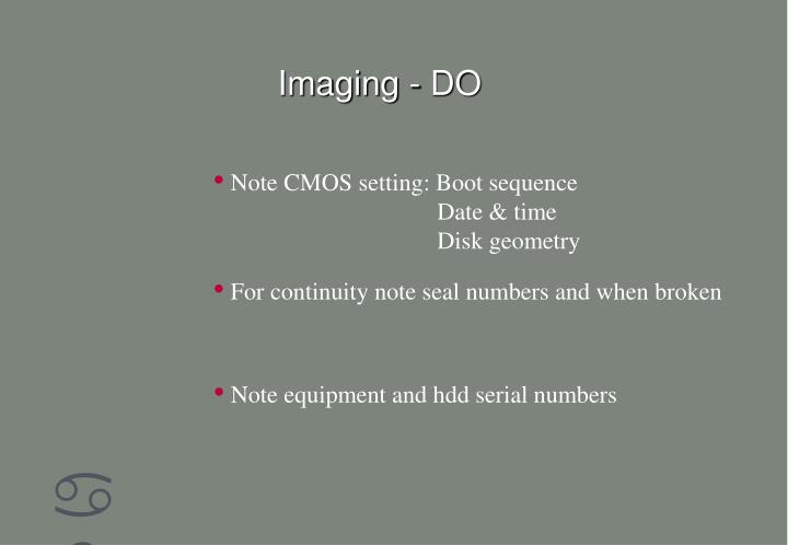 Imaging - DO