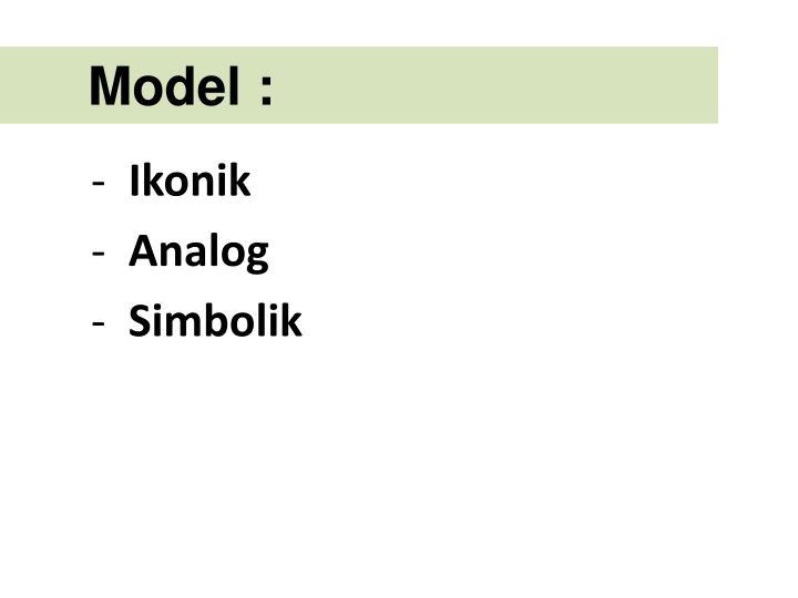Model :