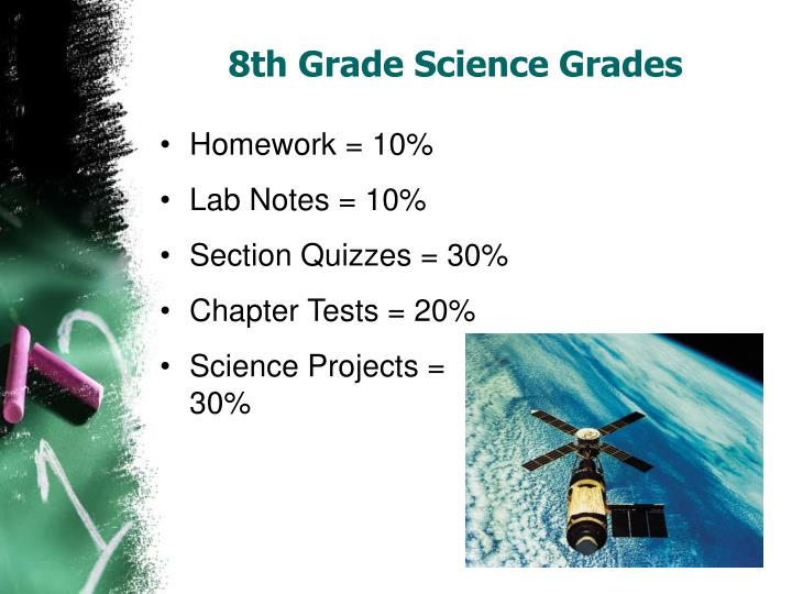 Science homework help 8th grade