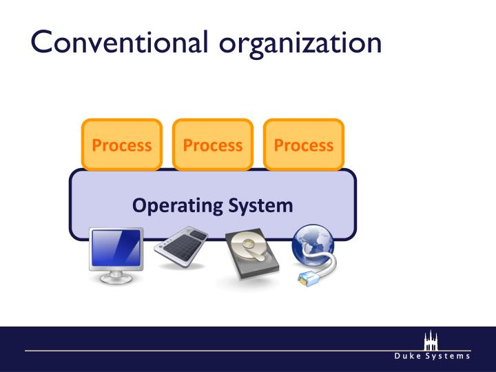 Conventional organization
