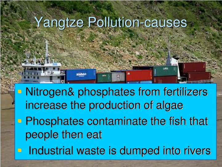 Yangtze Pollution-causes