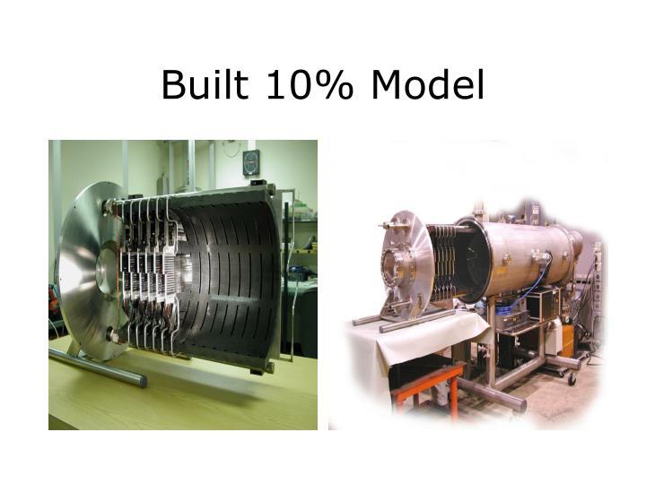 Built 10% Model