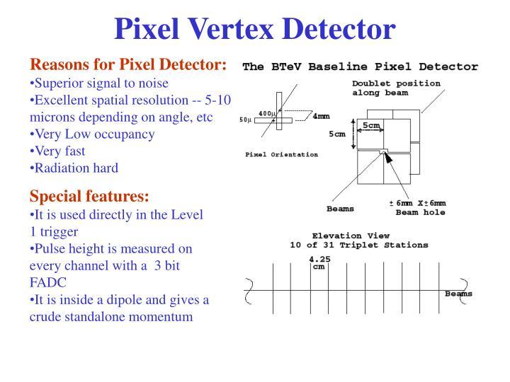 Pixel Vertex Detector