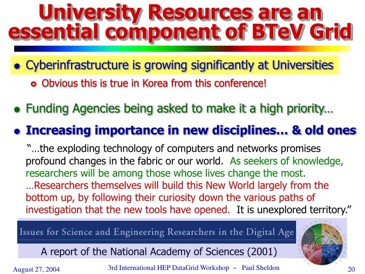 A report of the National Academy of Sciences (2001)