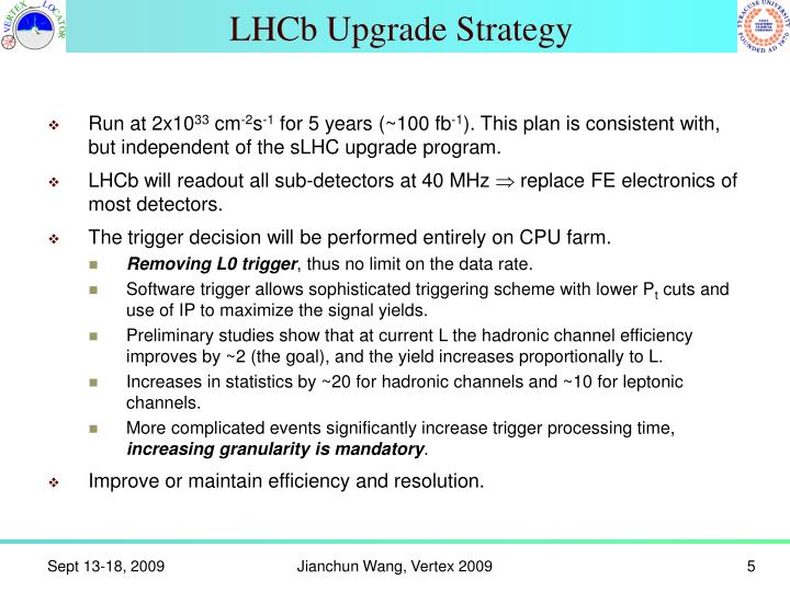 LHCb Upgrade Strategy
