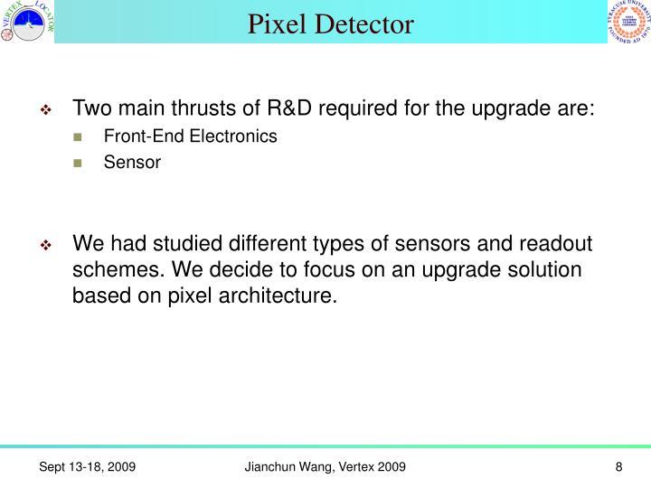 Pixel Detector