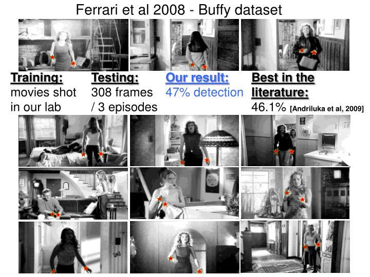 Ferrari et al 2008 - Buffy dataset
