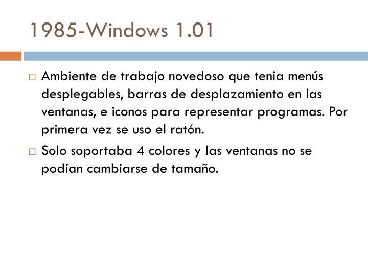 1985-Windows 1.01
