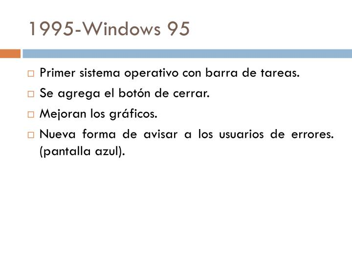 1995-Windows 95