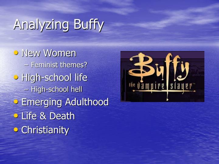 Analyzing Buffy