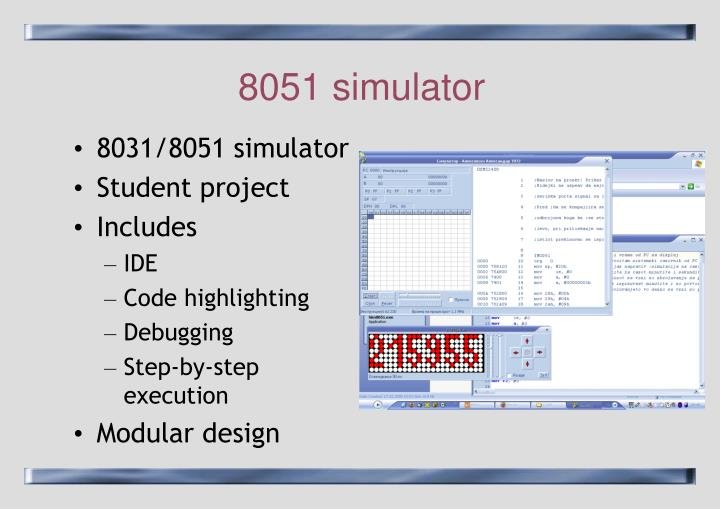 8051 simulator