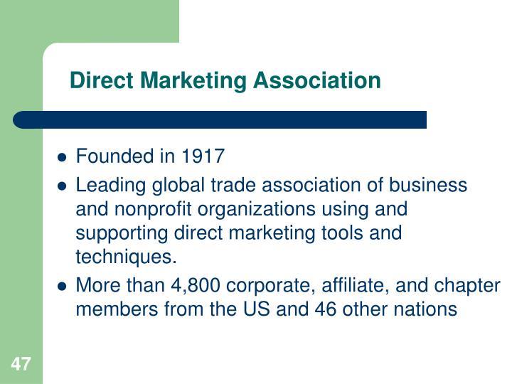 Direct Marketing Association