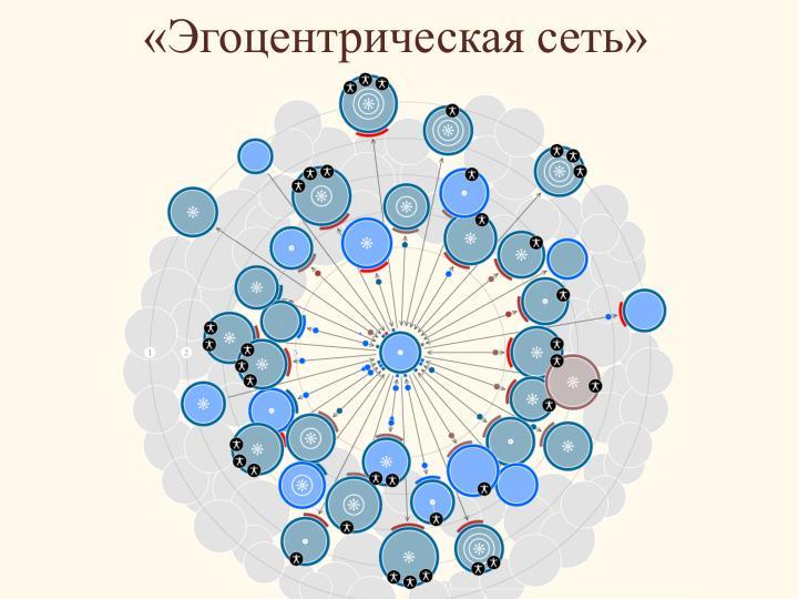 «Эгоцентрическая сеть»