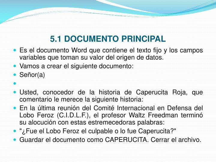 5.1 DOCUMENTO PRINCIPAL